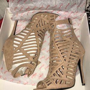 Brown new heels